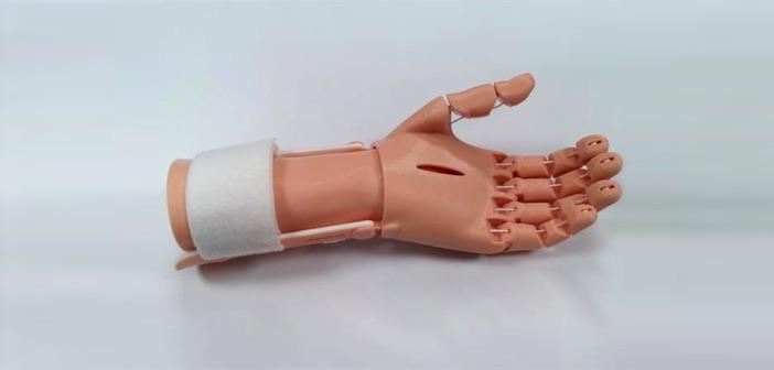Najdoskonalsza proteza dłoni możliwa do wydrukowania na niskobudżetowej drukarce 3D