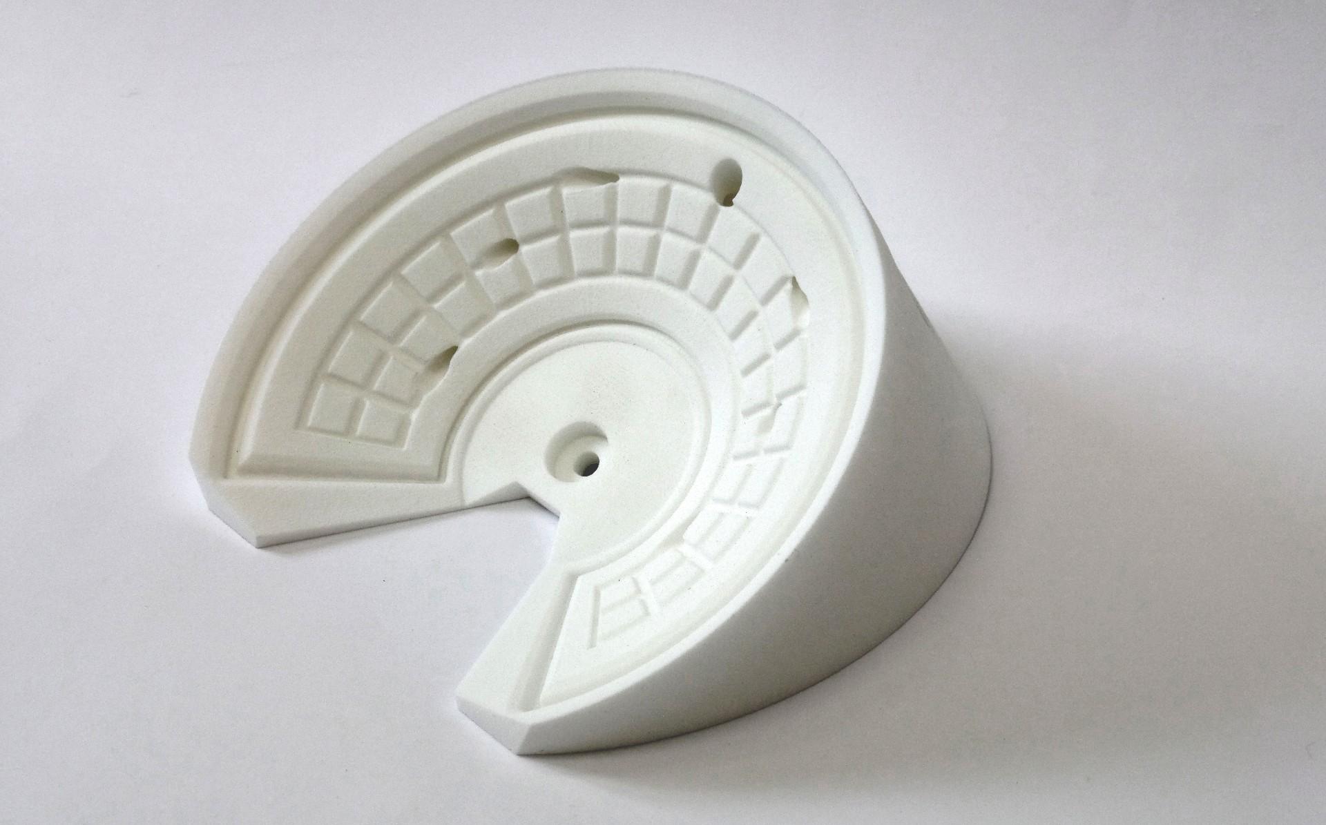 druk 3D SLS prototypowa forma gniazda licznika samochodu