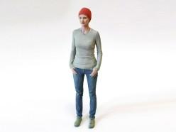 Druk 3D - figurka - kobieta