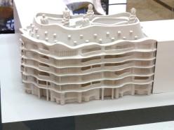 makieta architektoniczna - budynek