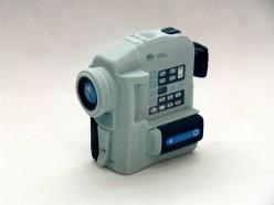 druk 3D - model koncepcyjny - kamera