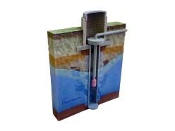 druk 3d - model koncepcyjny - pompa wodna